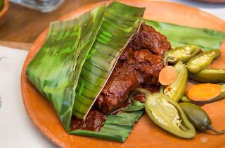mixiote comida mexicana platillo mexicano gastronomía El Hijo Desobediente