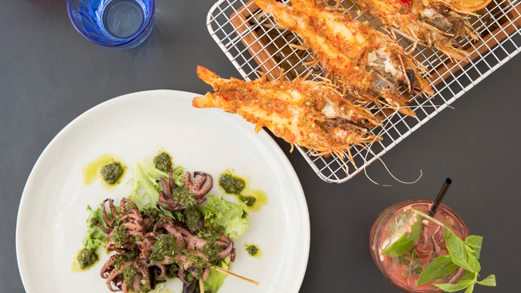 Superb seafood in Sydney
