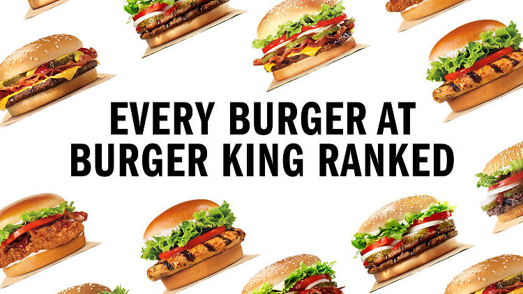 Burger King ranking