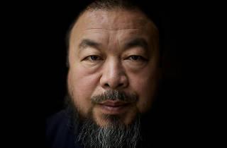 Ai Weiwei portrait