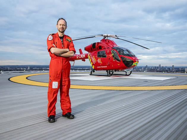 Neil Jeffers air ambulance pilot