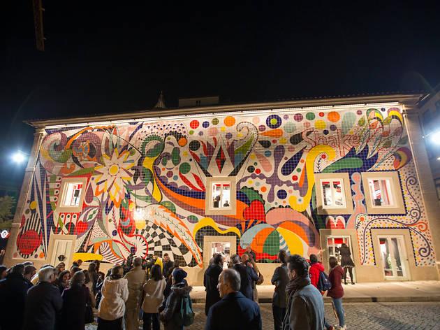 Painel de azulejos de Joana Vasconcelos