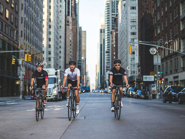 Bikes can now legally run red lights at 50 intersections across NYC