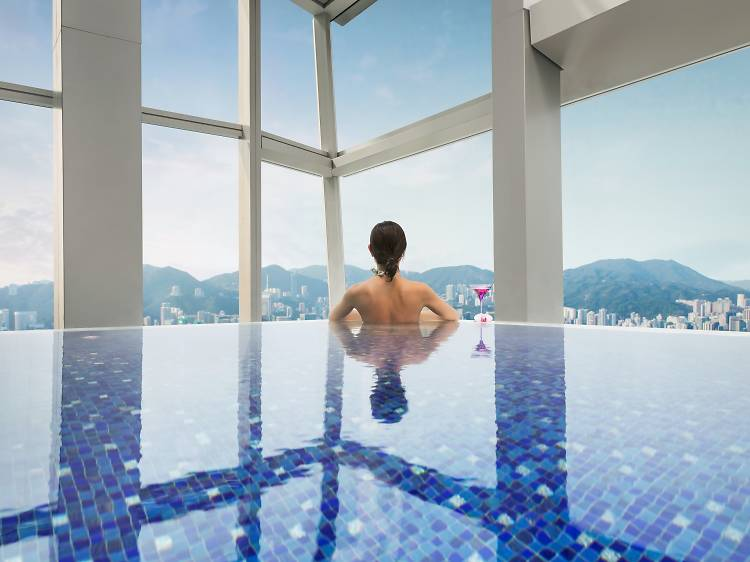 Best for a unique way to see HK in all its glory: The Ritz-Carlton