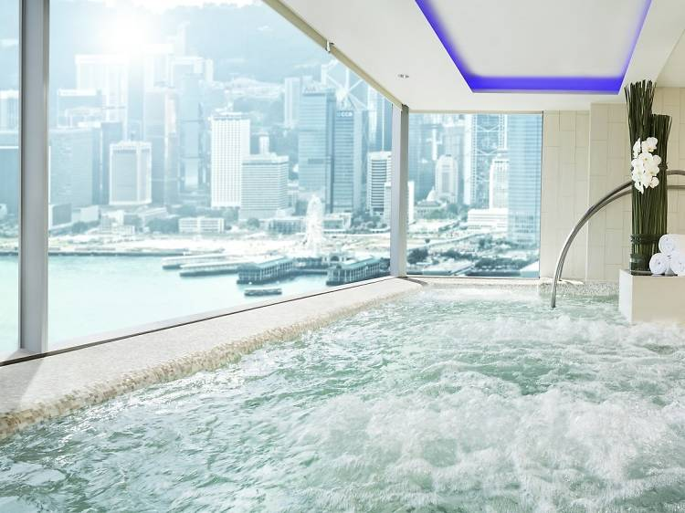 Best for young, hip crowds: W Hong Kong