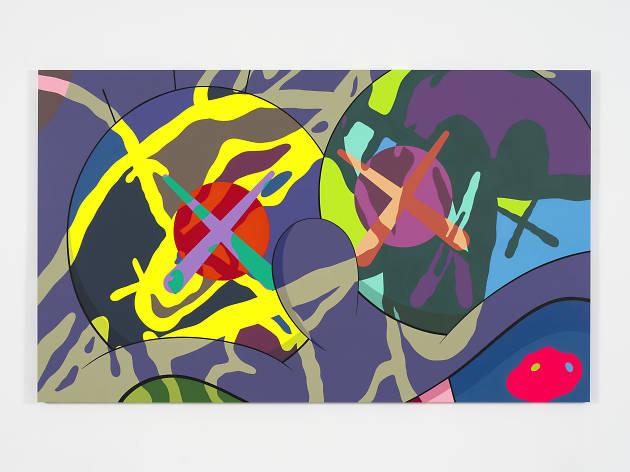Kaws 香港貝浩登畫廊個人展覽