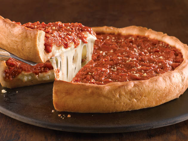 Best Deep Dish Pizza In Chicago For Cheesy Saucy Slices