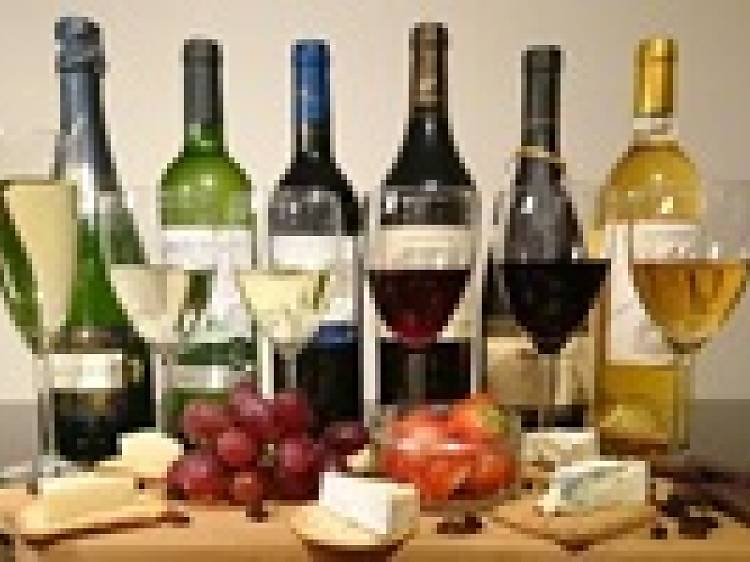 Luxury wine, Champagne and port tasting