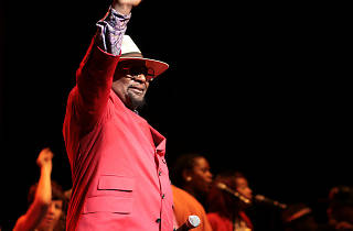 George Clinton and Parliament Funkadelic at House of Blues