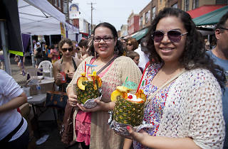 Every year, the Italian Market throws a two-day South 9th Street Italian Market Festival, with food, live music and fun.