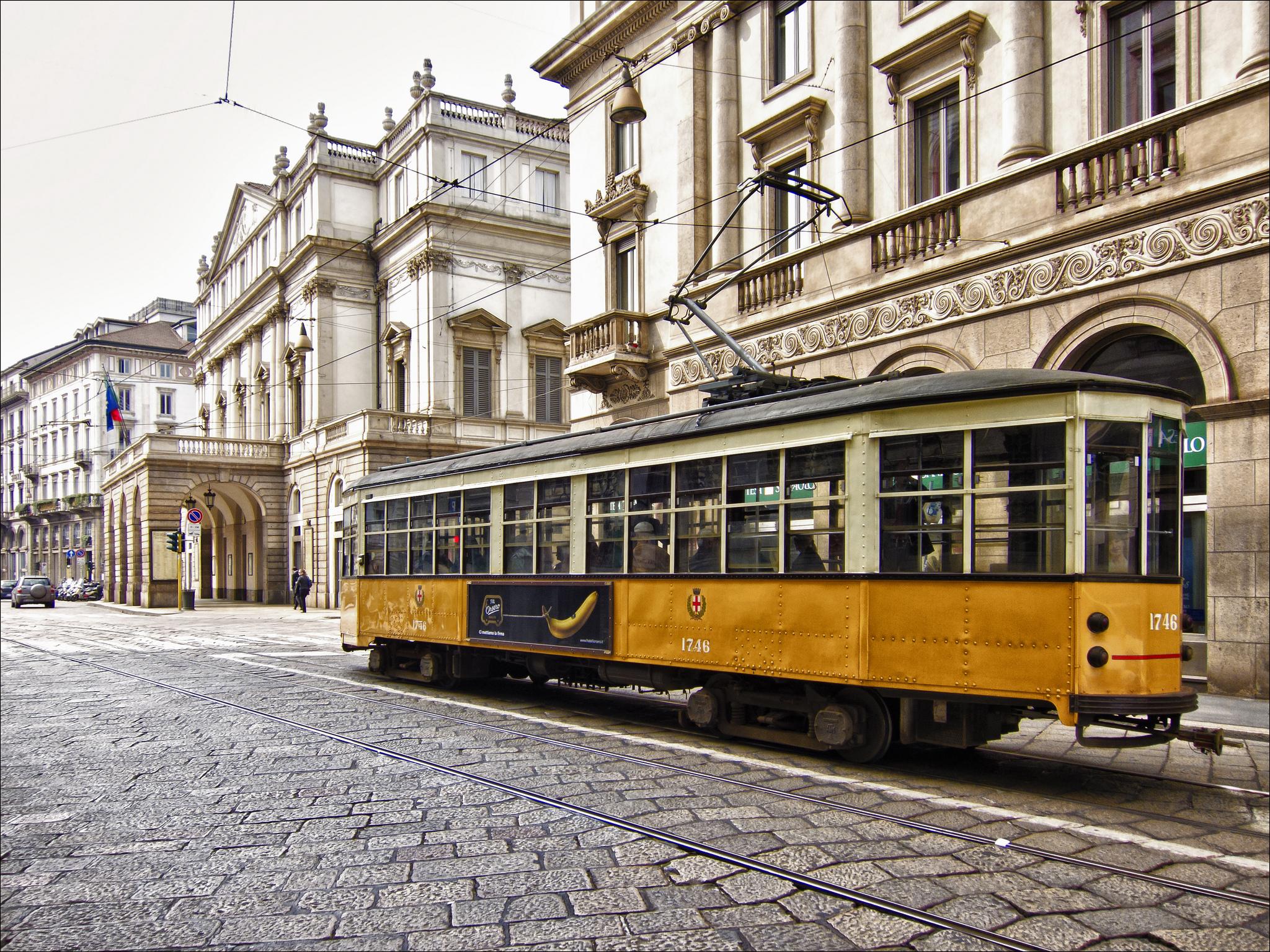Travel by tram