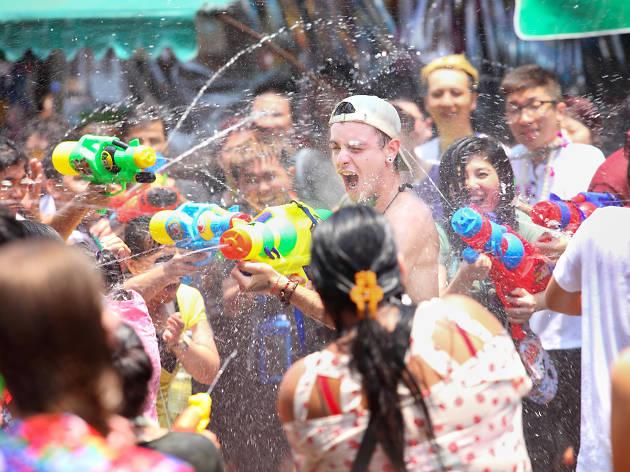 香港潑水節