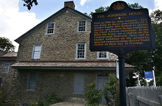 The Johnson House Historic Site in Germantown was a stop on the Underground Railroad