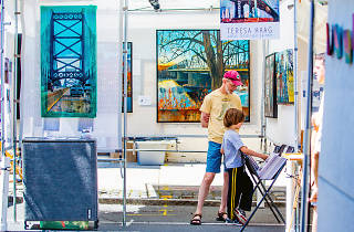 The Manayunk Arts Festival is the largest outdoor, juried arts festival in the tristate area