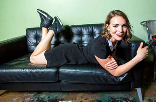 Beth Stelling at The Punch Line