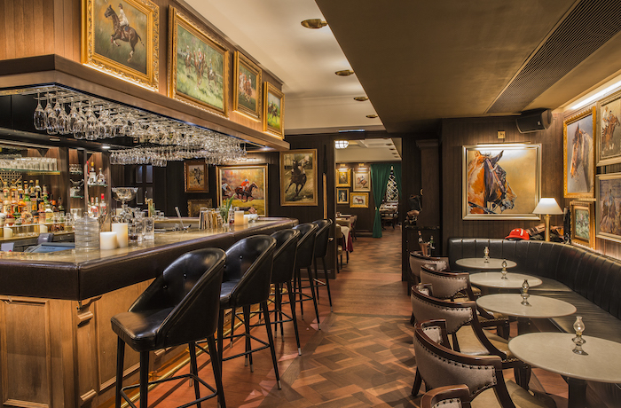 Buenos Aires Polo Club bar. Photo: Callaghan Walsh