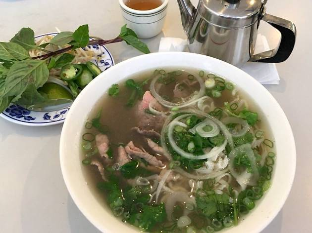 Pho 75 delivers steaming bowls of pho to your table in record speeds.