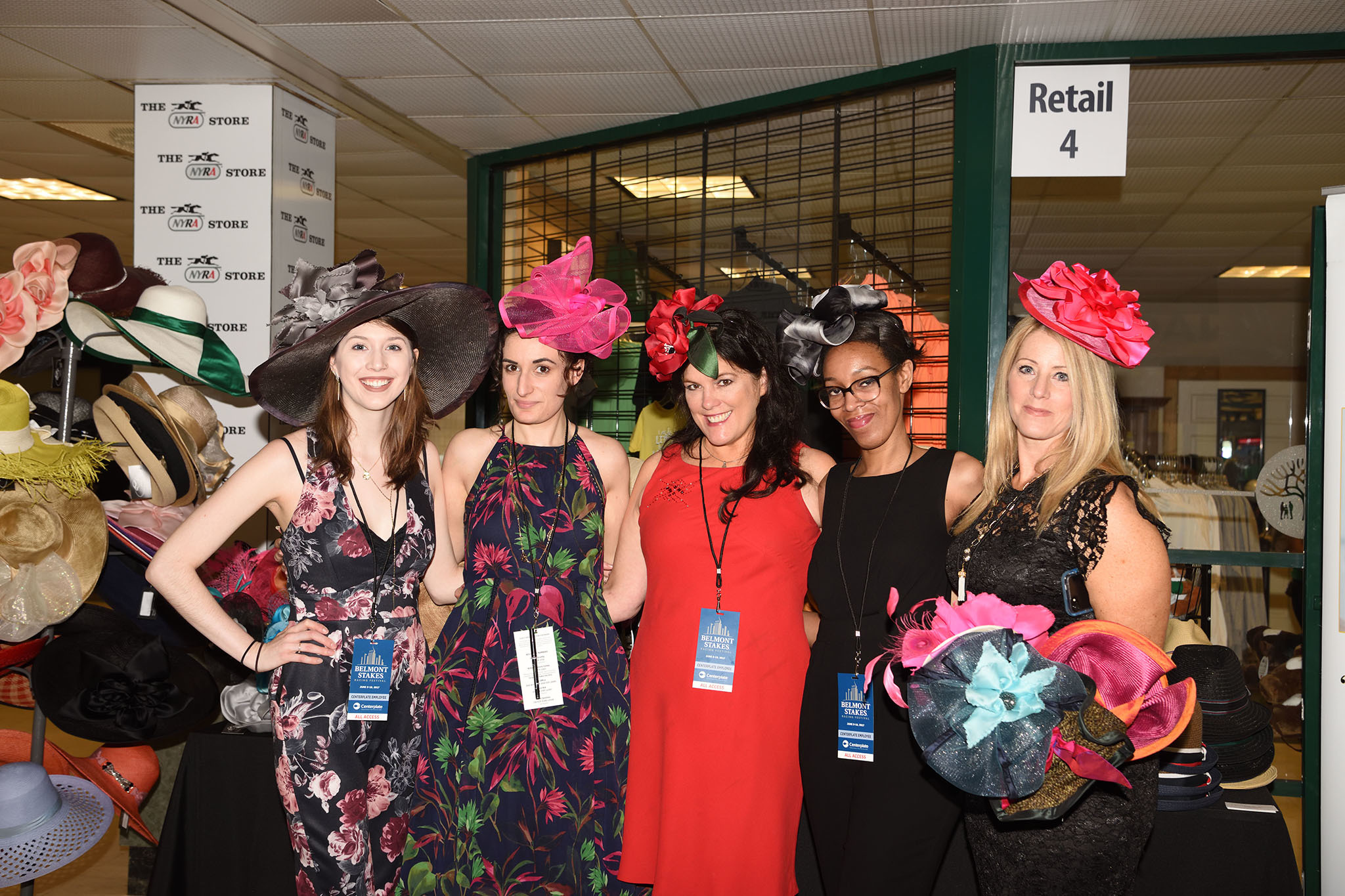 Wear a fancy hat for the Triple Crown