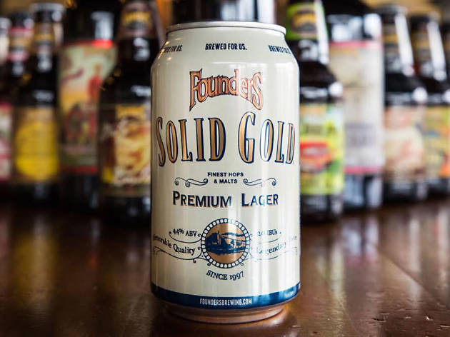 Solid Gold, Founder Brewing Co., Grand Rapids, MI