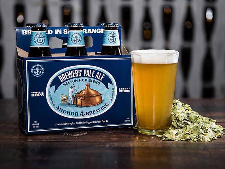 Brewers' Pale Ale: Nelson Hop Blend, Anchor Brewing, San Francisco