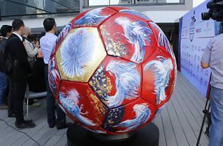 Balón representante de Francia