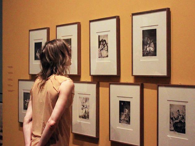 Foto de la exposición de Goya