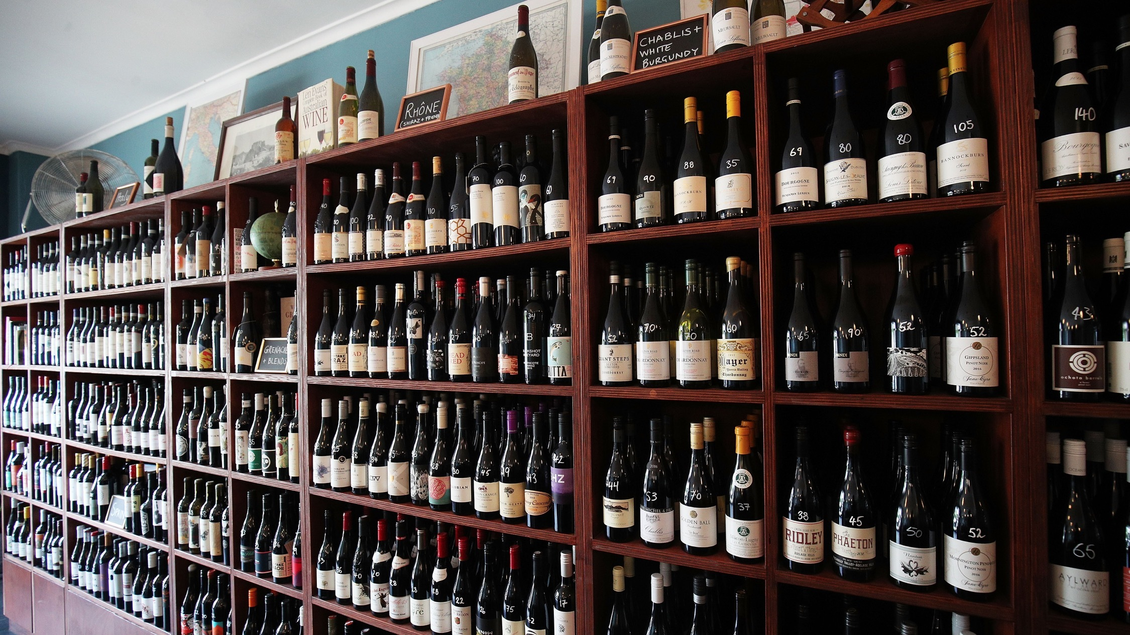 Wines at Atlas Vinifera