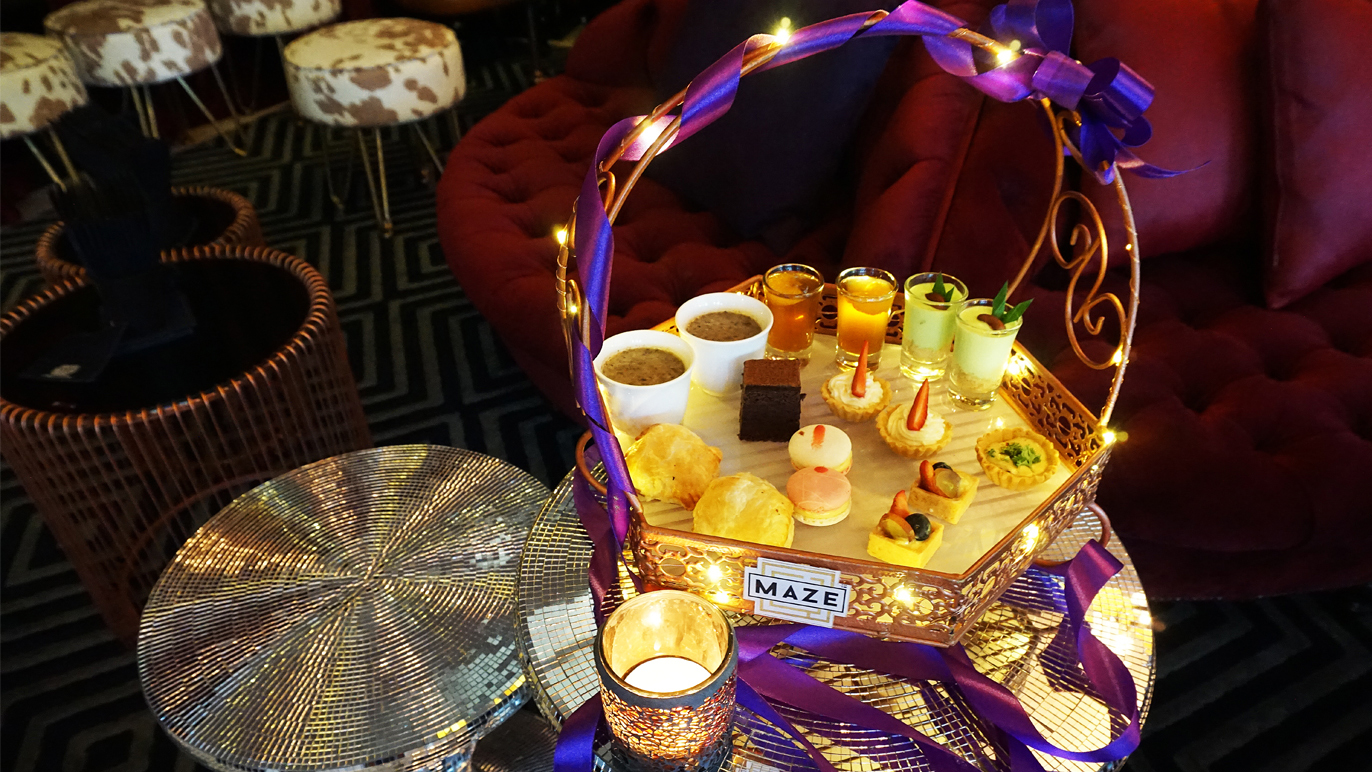 MAZE high tea promotion