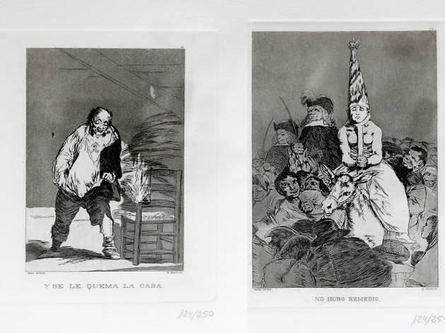 Imagen de la serie Los caprichos de Goya en México