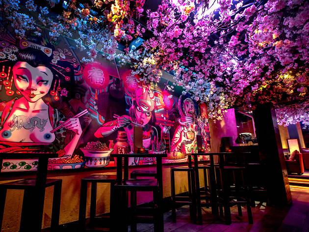 blossom bars in london, shochu lounge