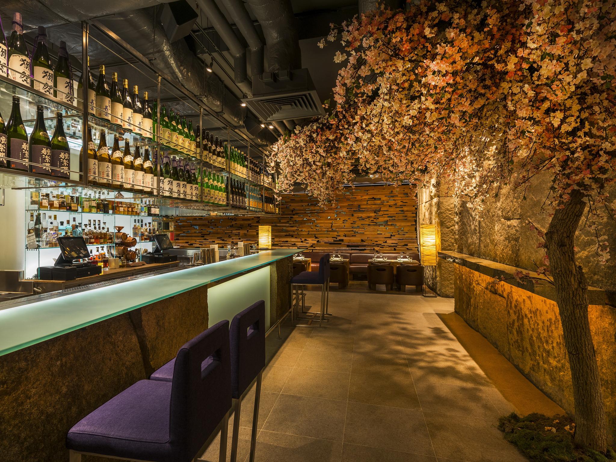zuma, london's best blossom bars