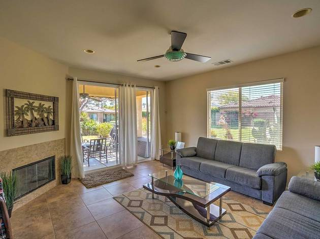 Three-Bedroom Indio House with Lake, Mountain and Festival Views