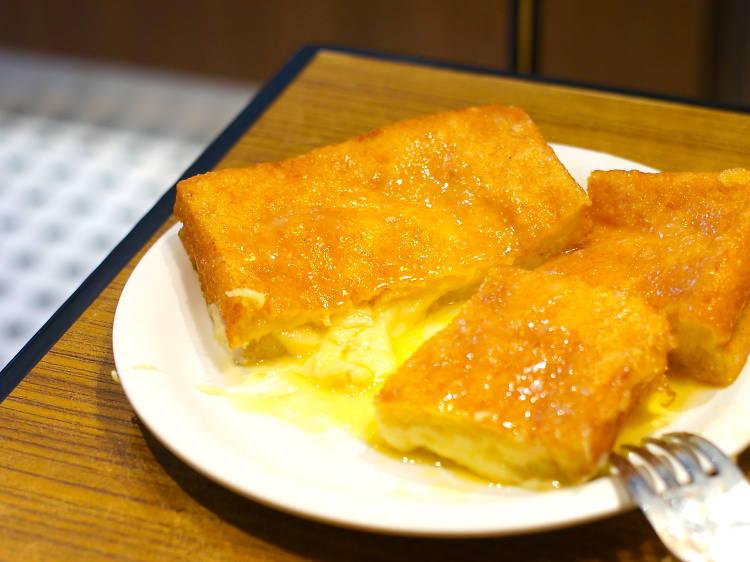 紅茶冰室︰芝士西多($23)