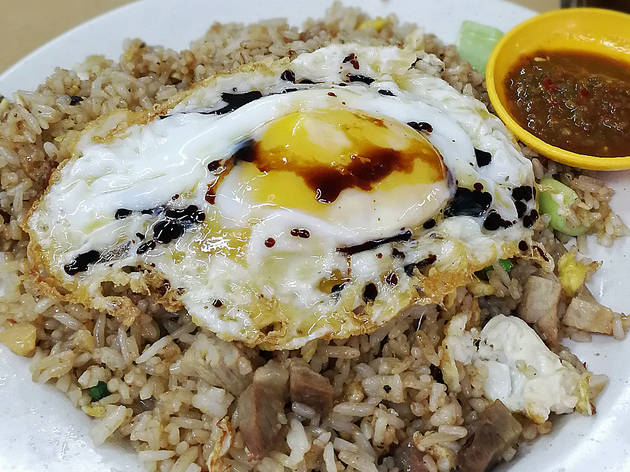Fried rice at Uncle Soon, from RM6.50