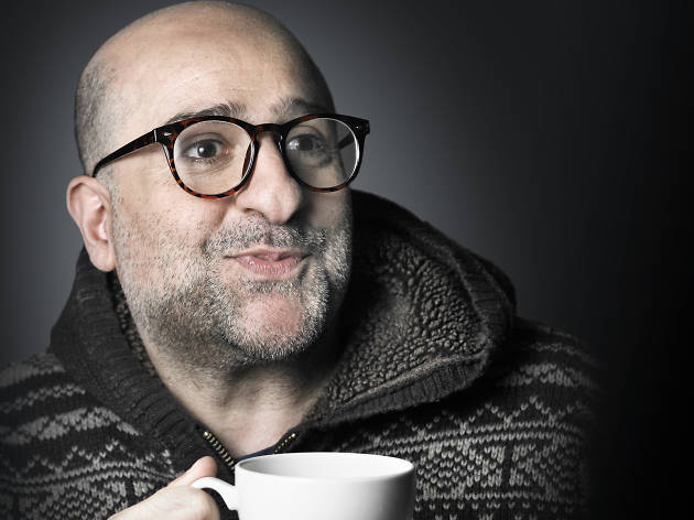 Omid Djalili, Time Out Switzerland
