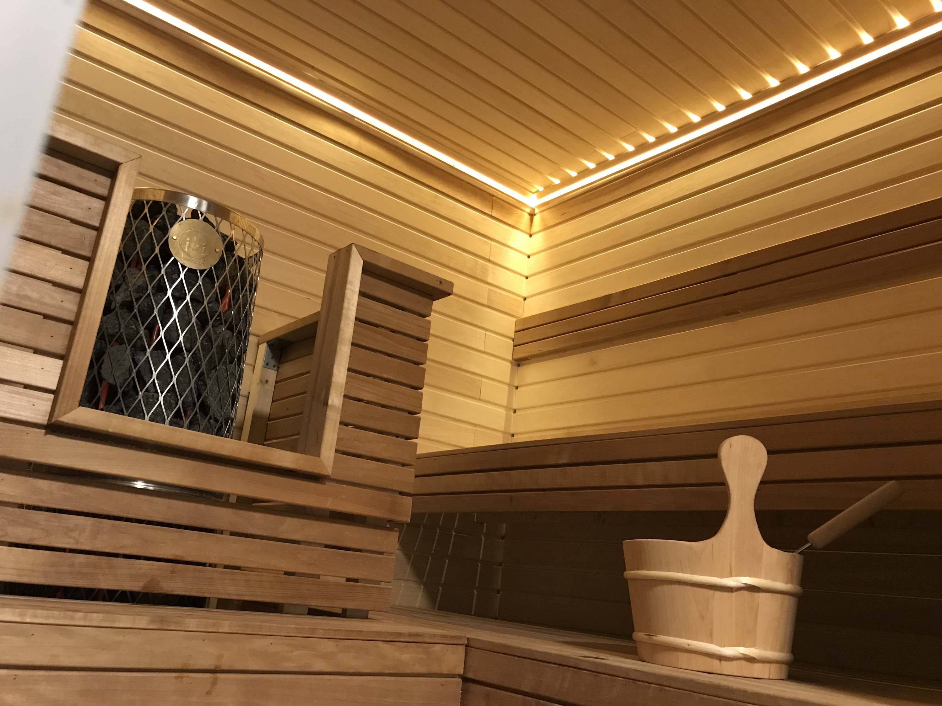 Finnish Church sauna