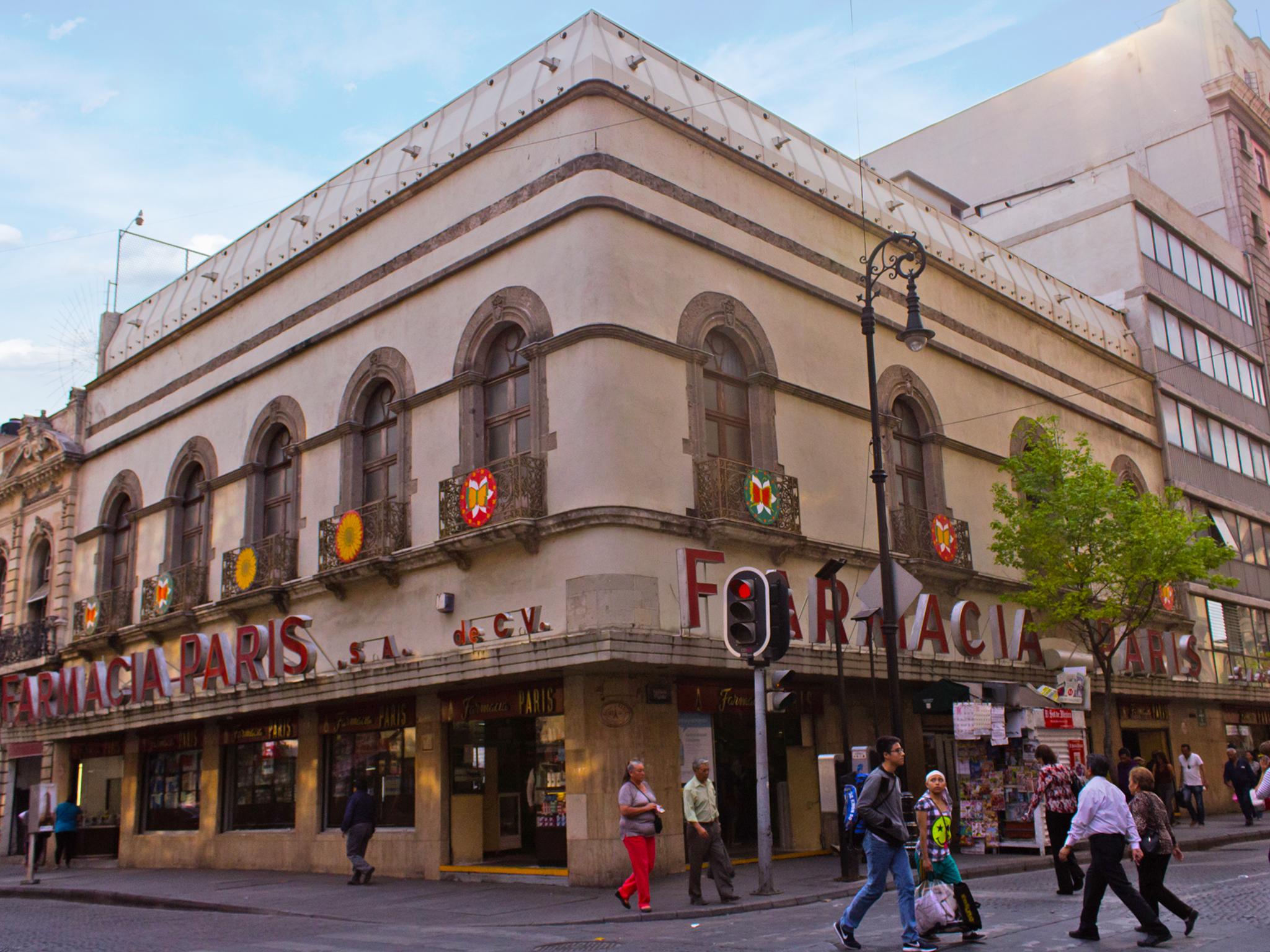 Tiendas antiguas en el Centro de la CDMX