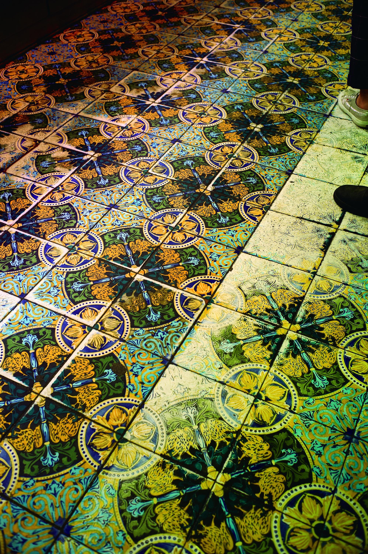 Mosaic hidràulic de la Granja Viader