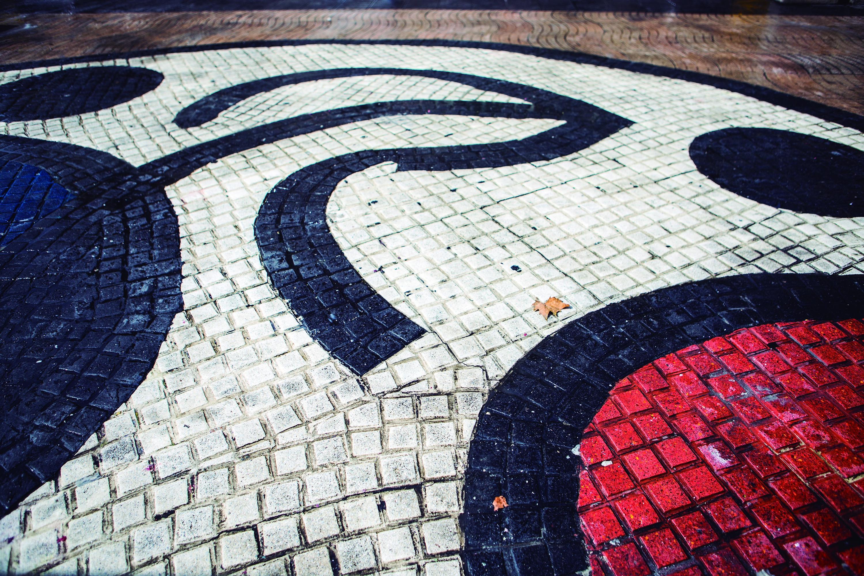 Paviment Miró a la Rambla