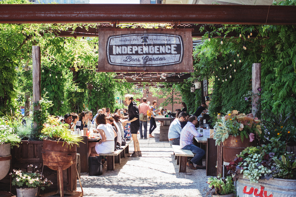 Independence Beer Garden opens April 20
