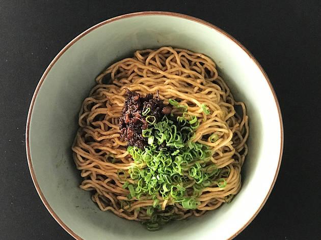 Sitka Restaurant Ramen XO noodles