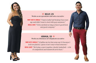 Find me a date: Joshua and Kelly