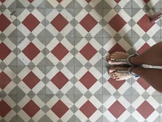 Mosaico del Hospital de la Santa Creu