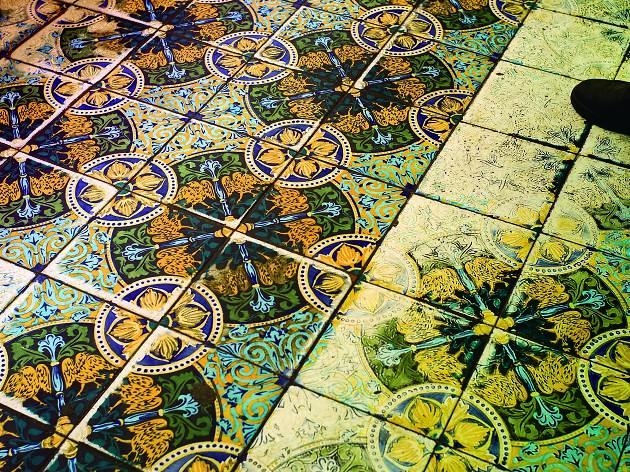 Mosaic de la Granja Viader