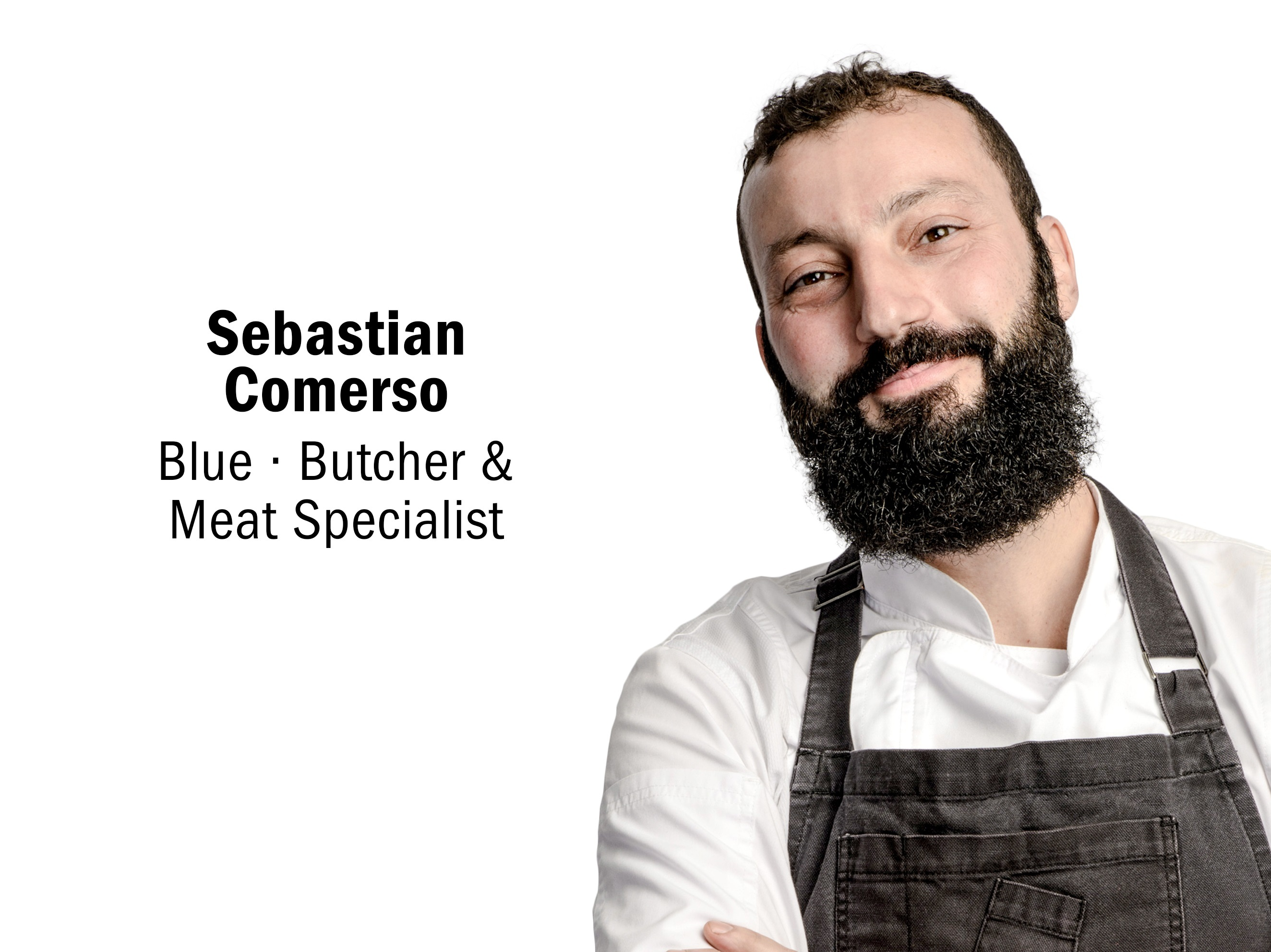 Chef Sebastian Comerso of Blue