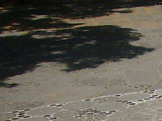 Paviment del Mirador de l'Alcalde