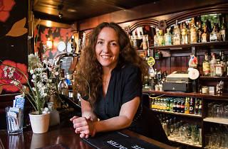 Debbie Connor, landlady of The Camel, Bethnal Green