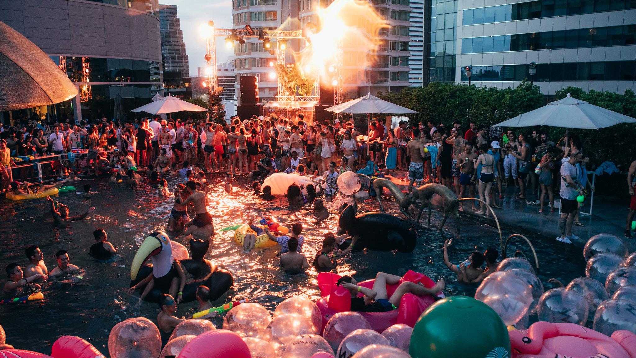 ปาร์ตี้สงกรานต์ในกรุงเทพฯ ที่คุณไม่ควรพลาด