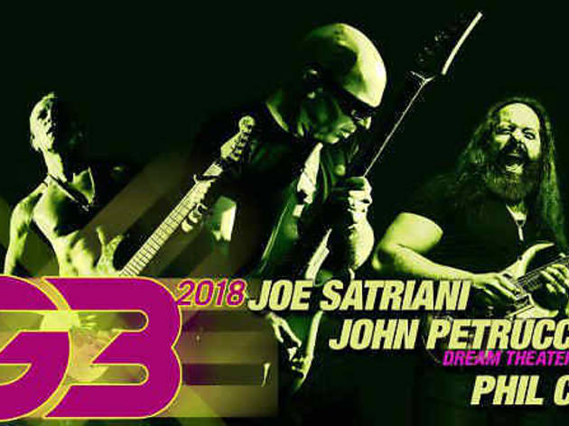 Joe Satriani, John Petrucci & Uli Jon Roth
