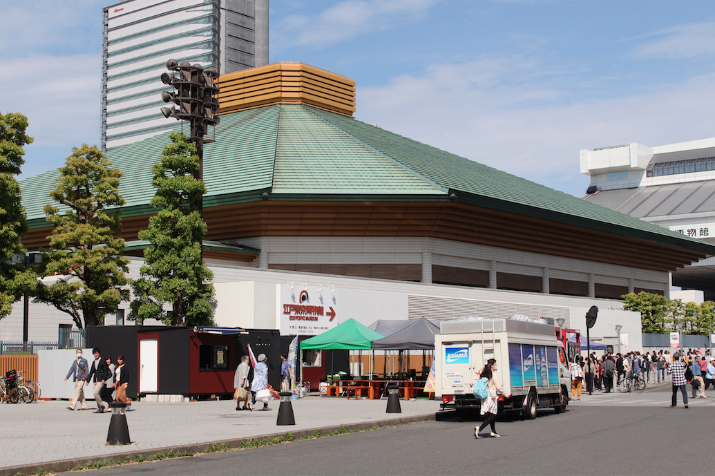 The July sumo tournament in Tokyo will be open to the public